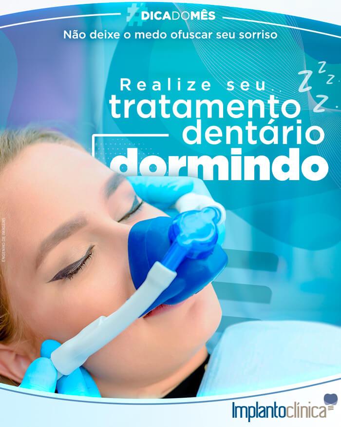 Sabia que você pode realizar um tratamento dentário dormindo?