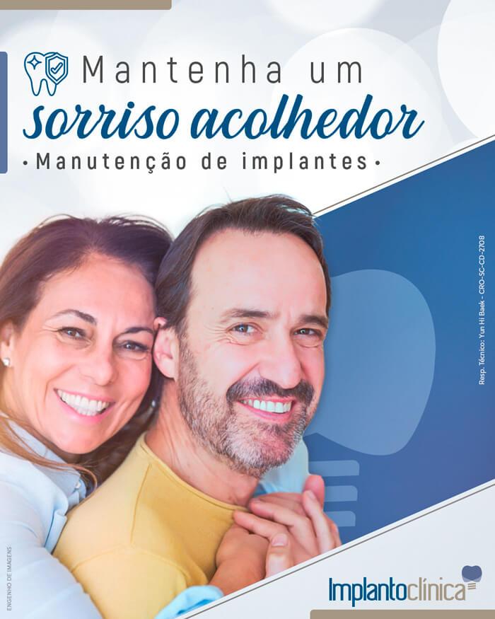 Manutenção de implante é na Implantoclínica!