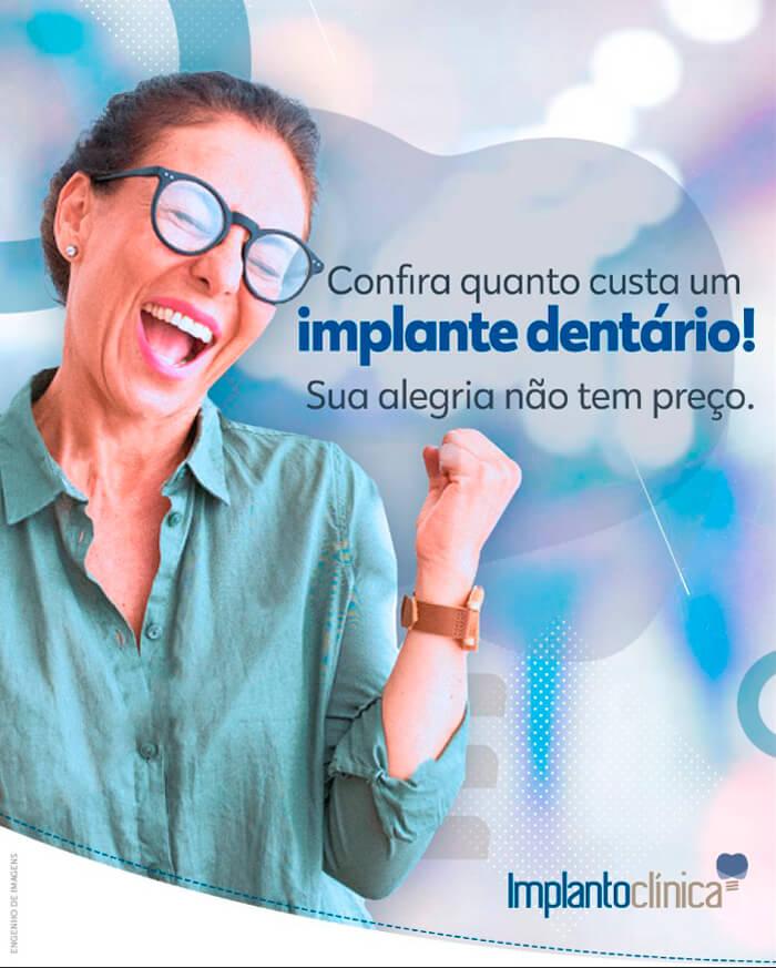 Qual o valor de um implante dentário?