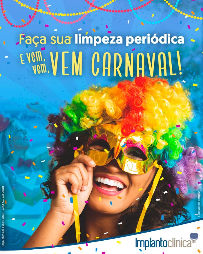 Dica: Faça uma limpeza periódica para o Carnaval!